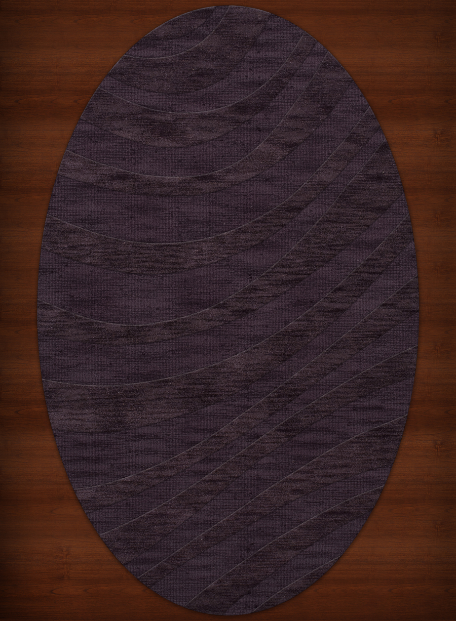 Payless Troy TR12 130 Grape Ice Oval Rug