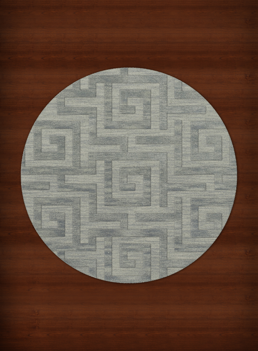 Payless Troy TR13 113 Seaglass Round Rug