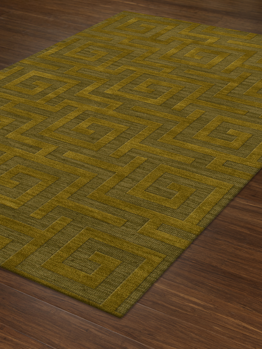 Payless Troy TR13 157 Avacado Rectangle Rug