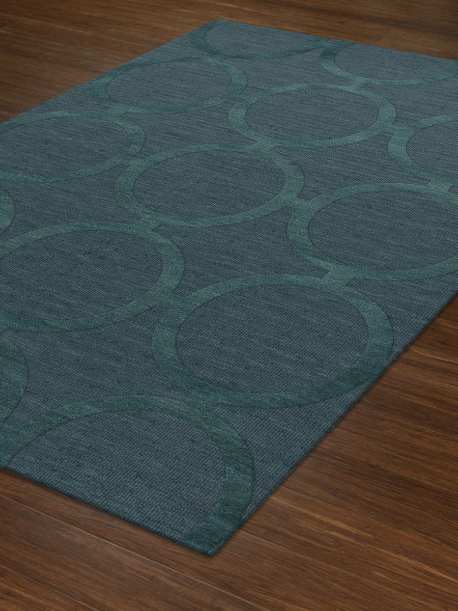 Payless Troy TR14 144 Teal Rectangle Rug