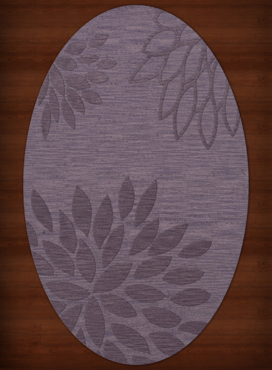 Payless Troy TR17 129 Viola Oval Rug