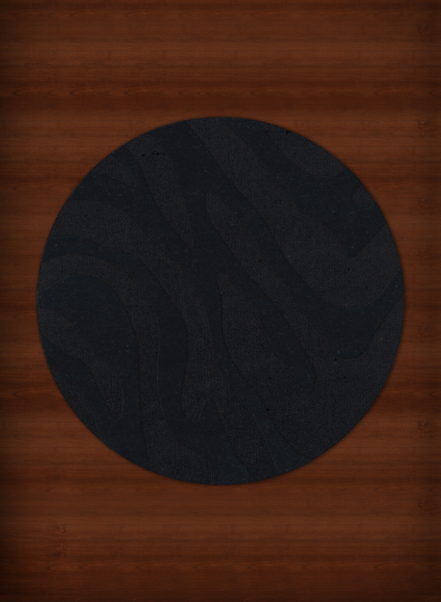 Payless Troy TR2 111 Black Round Rug