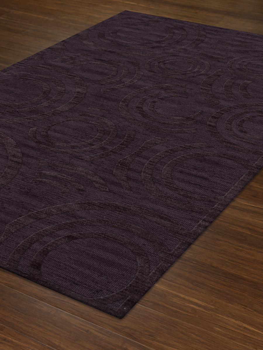 Payless Troy TR3 130 Grape Ice Rectangle Rug