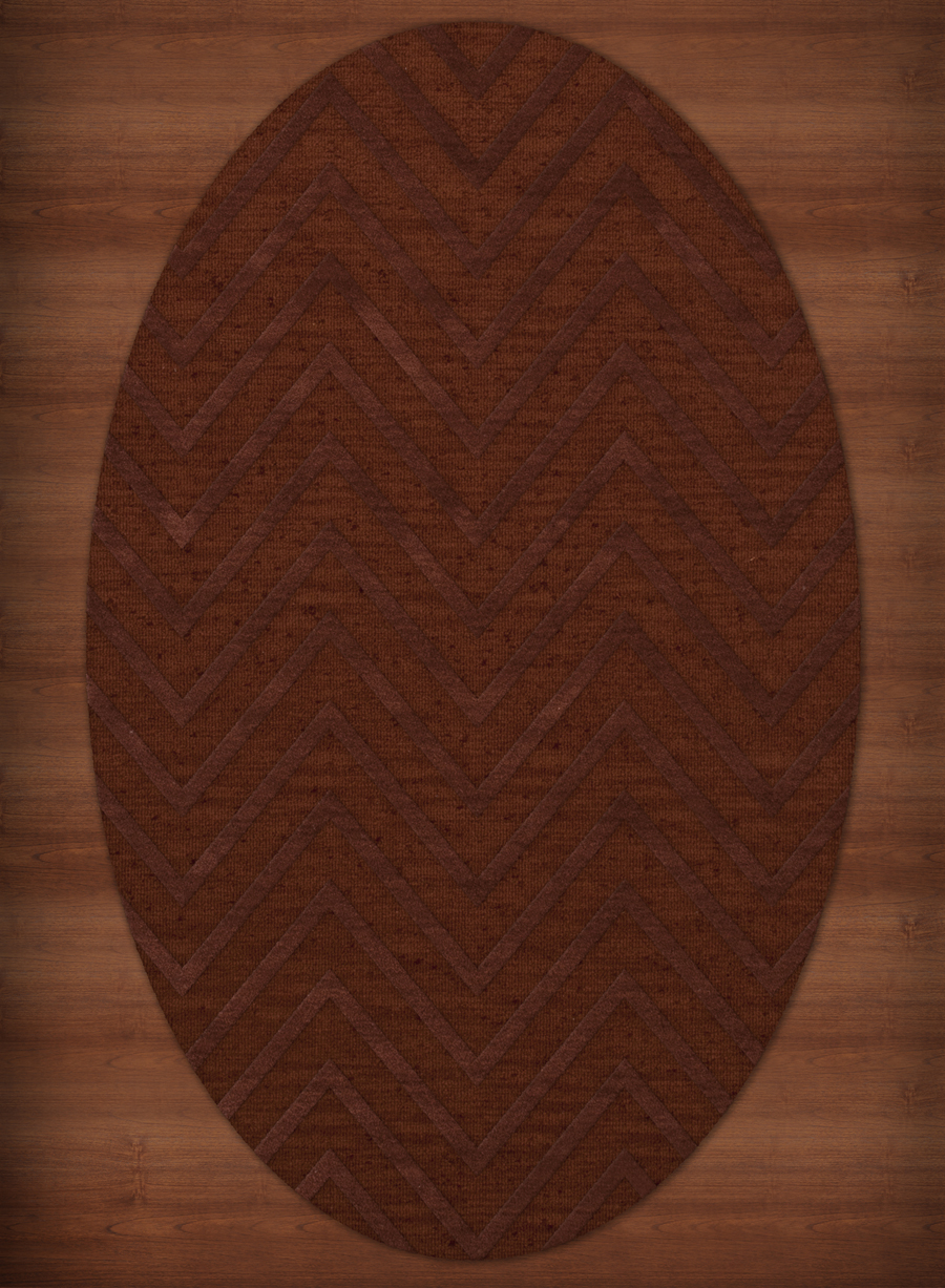 Payless Troy TR4 137 Paprika Oval Rug