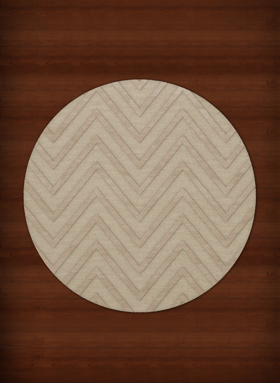 Payless Troy TR4 148 Linen Round Rug