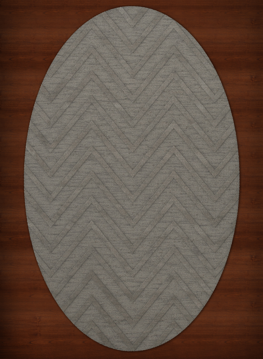 Payless Troy TR4 152 Silver Oval Rug
