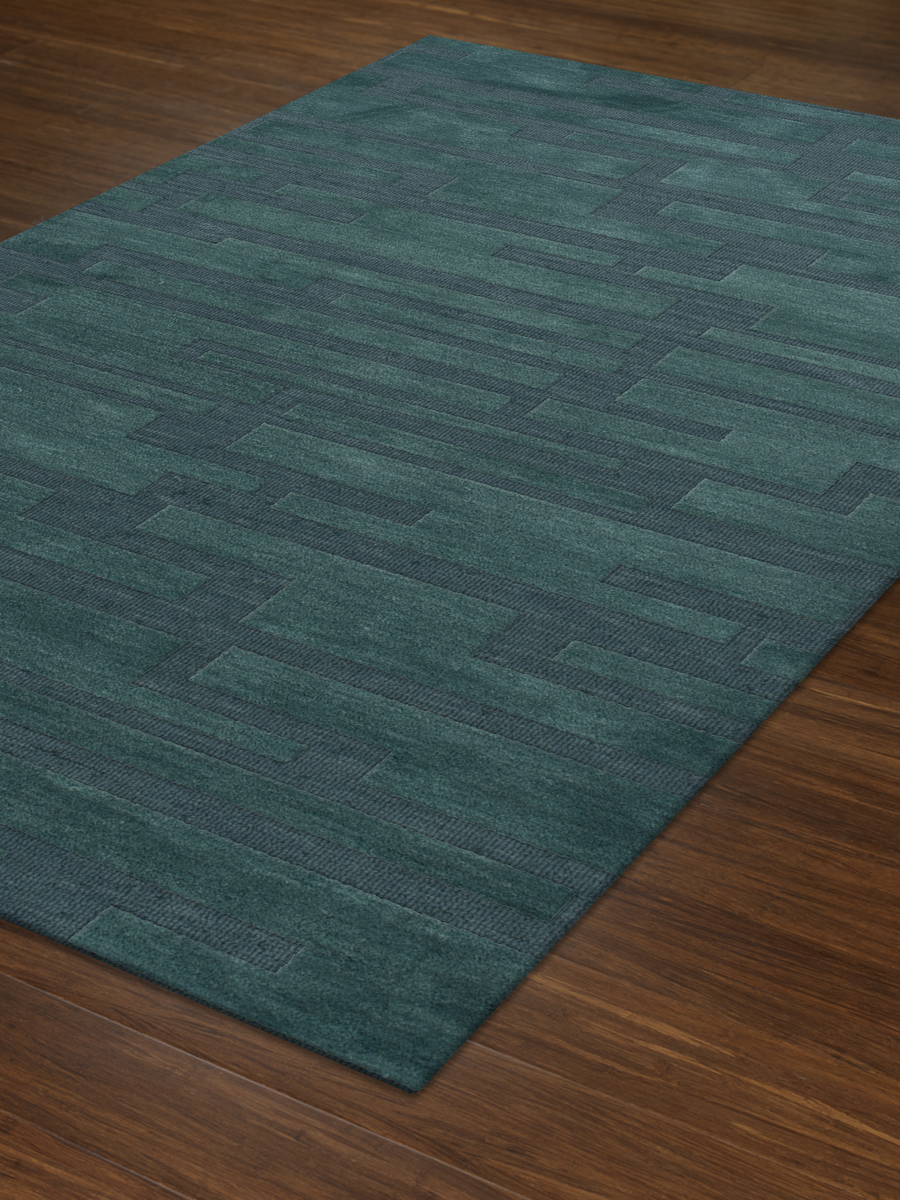 Payless Troy TR6 144 Teal Rectangle Rug