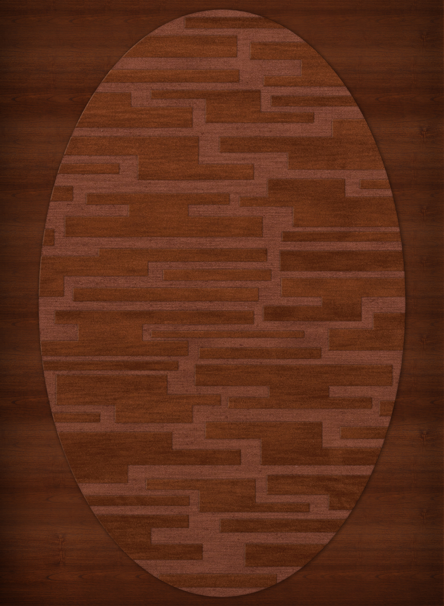 Payless Troy TR6 162 Spice Oval Rug