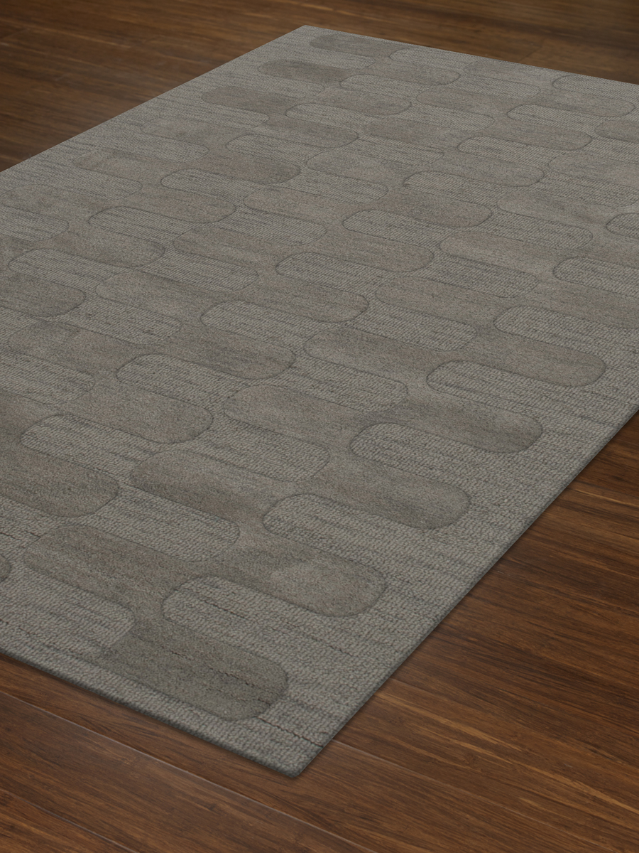 Payless Troy TR9 152 Silver Rectangle Rug