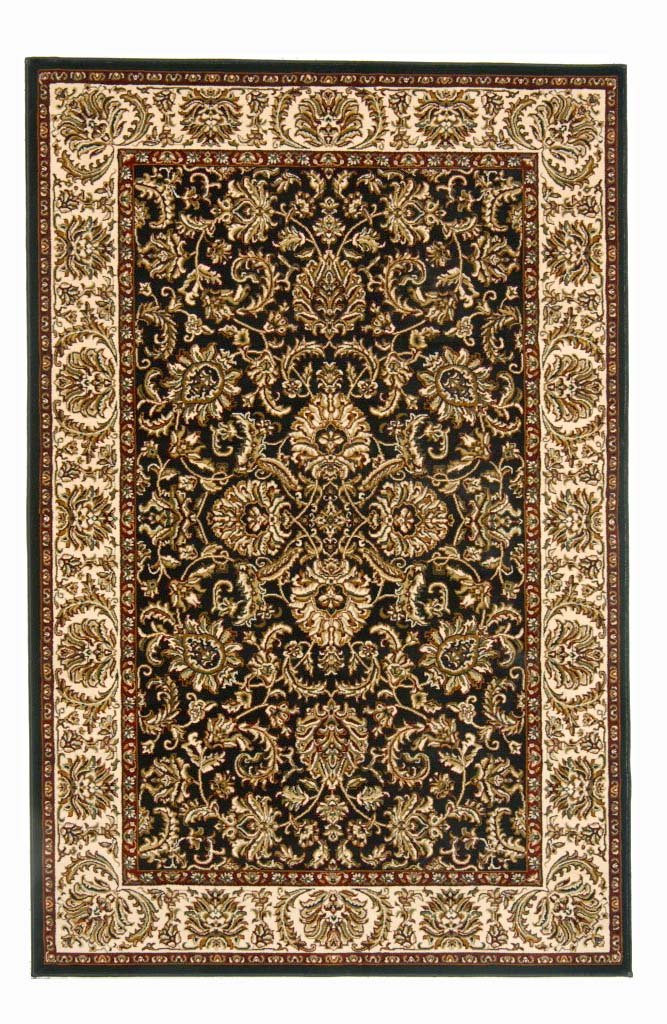 Noble 1305 Black Rug by Radici