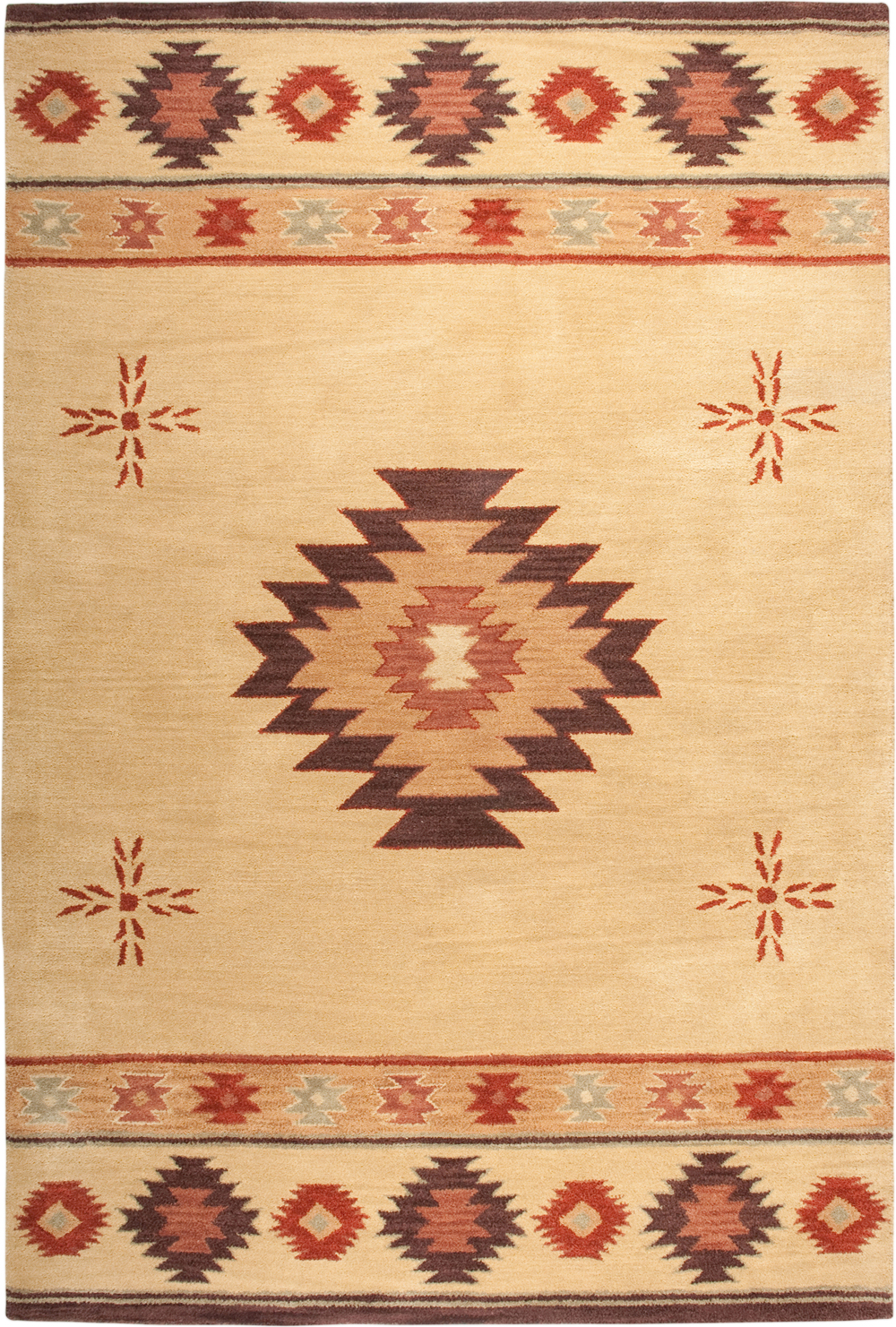 rug products sonoma southwest copper fe colored new woodwaves southwestern rugs mexico santa