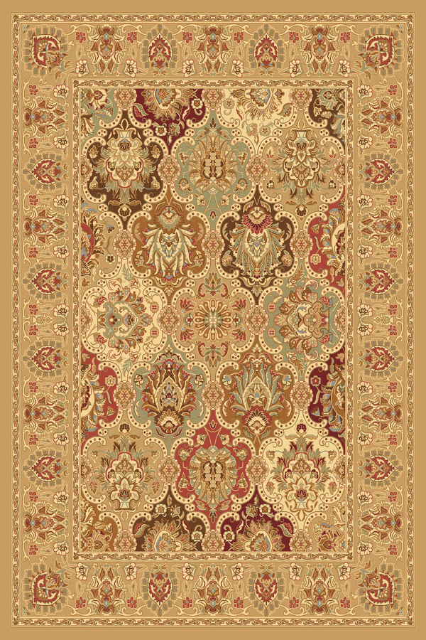 Rugs America New Vision P108 Panel Berber