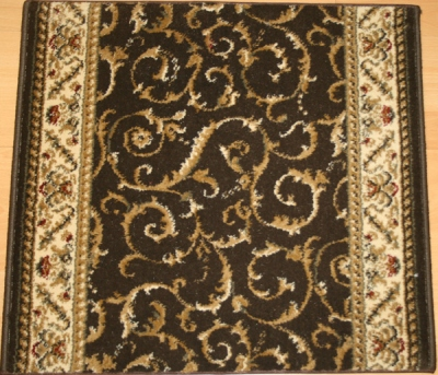 Como 1599 Chocolate Carpet Stair Runner