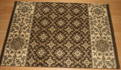 Palladino Genoa CBD8/0002a Chocolate Carpet Stair Runner