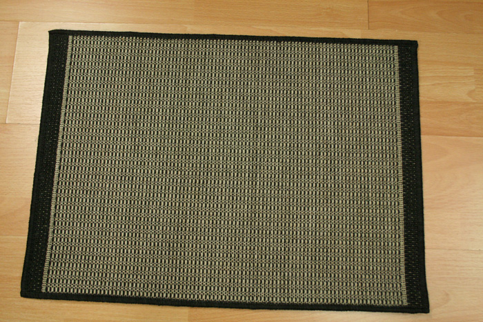 Foris FS01 Charcoal Indoor/Outdoor Carpet Stair Runner