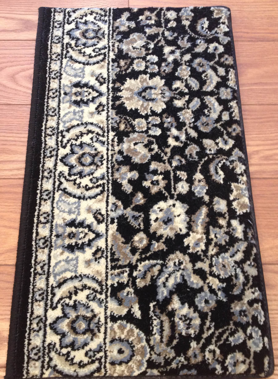 Alba 1767 Black Carpet Stair Runner