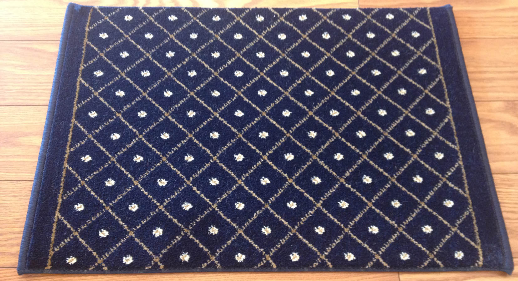 Como 782 Navy Carpet Hallway And Stair Runner 26 Quot X 29 Ft