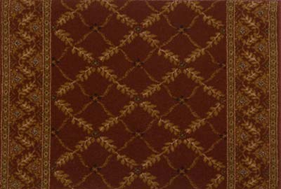 Royal Sovereign Anastasia 2630 Claret Carpet Stair Runner