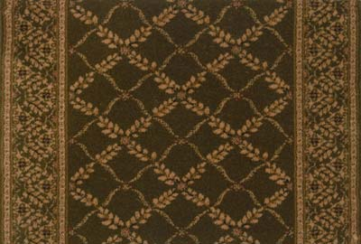 Royal Sovereign Anastasia 2650 Olive Carpet Stair Runner