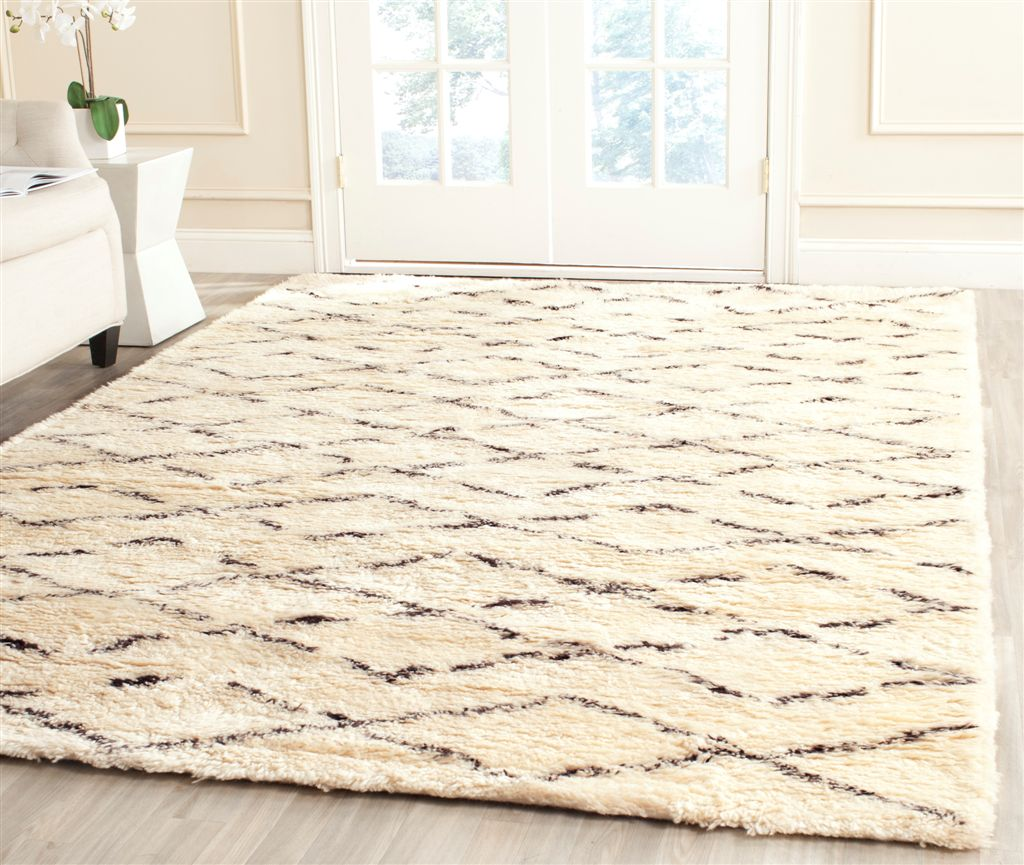 whitebrown rug reviews and woven hand area pdx wayfair exquisite hide rugs natural white brown