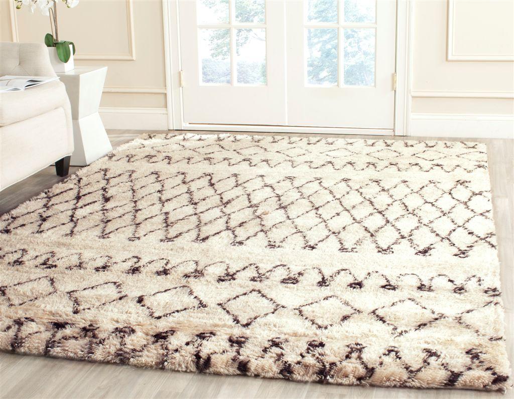 safavieh casablanca csb851a white black area rug