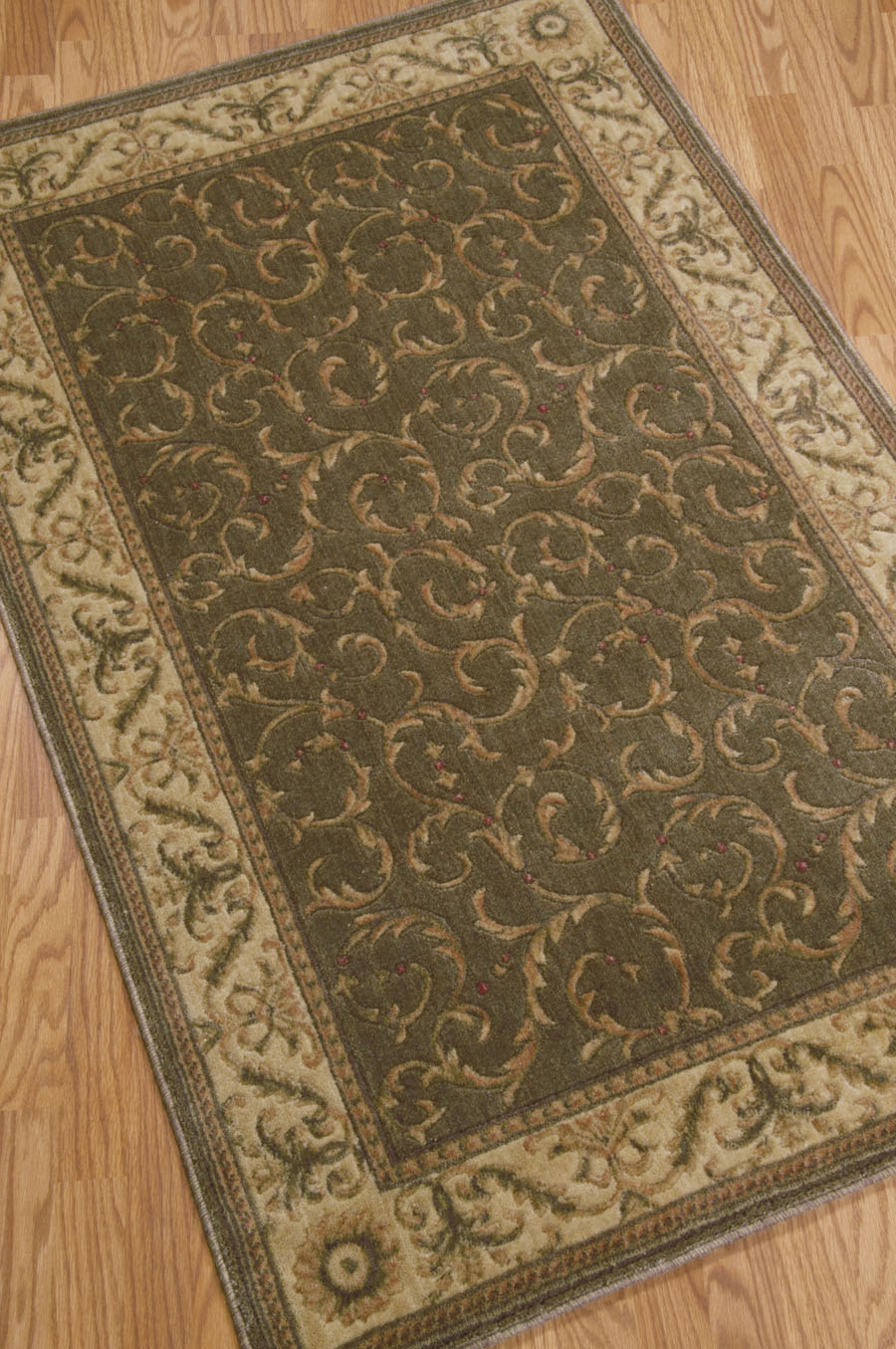 Somerset ST02 Khaki Rug by Nourison