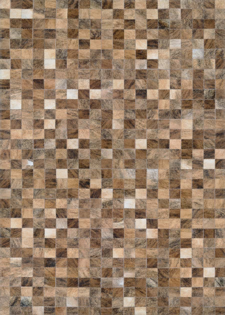 Couristan Chalet Pixels 3268/9017 Brown Rug
