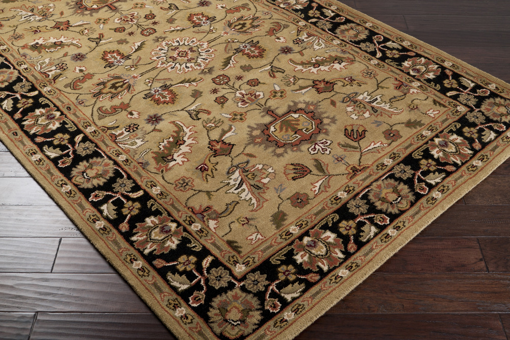 Crowne CRN-6007 Gold Rug by Surya
