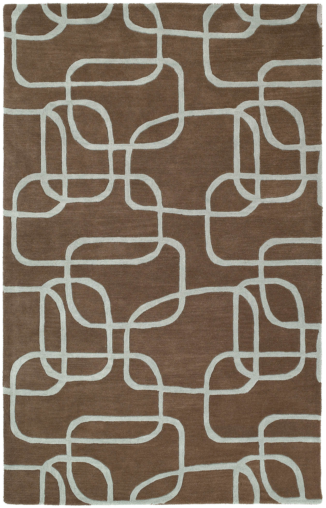 Astronomy 3402 Nebula Brown 49 Rug by Kaleen
