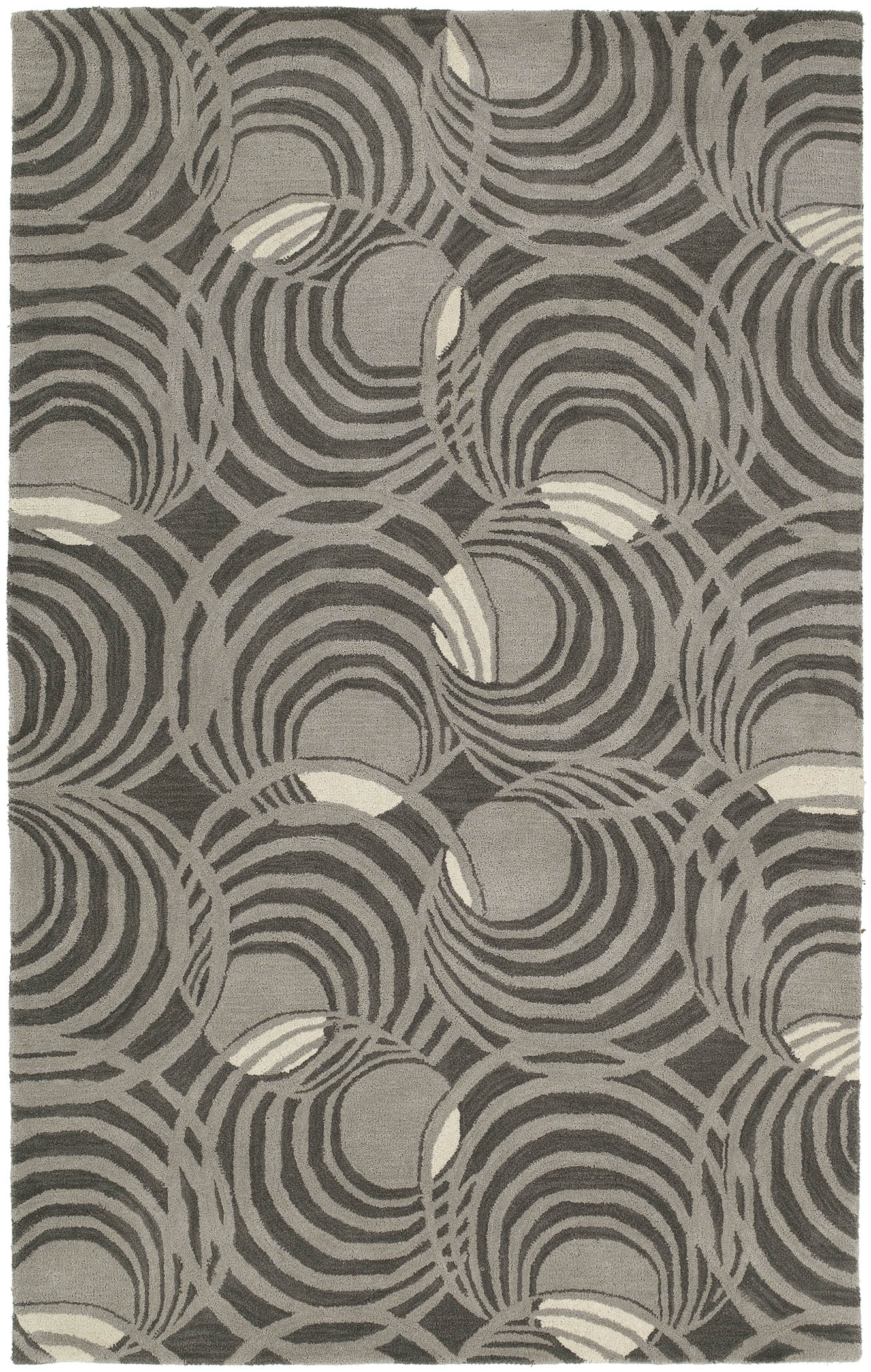 Astronomy 3404 Lunar Graphite 68 Rug by Kaleen