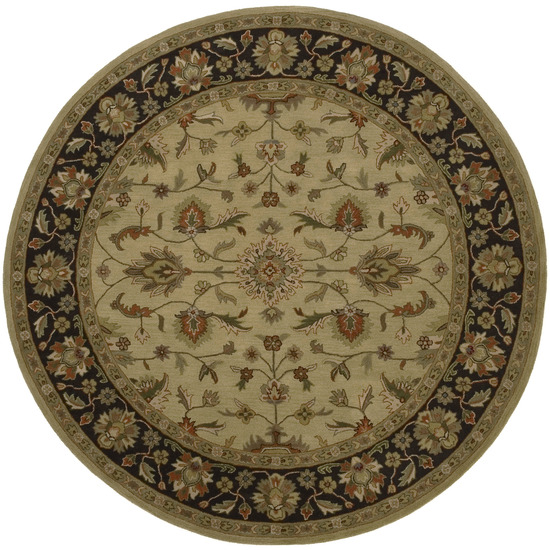 Crowne CRN - 6007 Gold Rug by Surya
