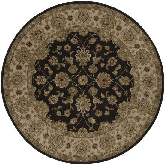 Crowne CRN - 6009 Charcoal Rug by Surya