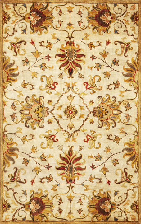Syriana Agra 6012 Champagne Rug by Kas