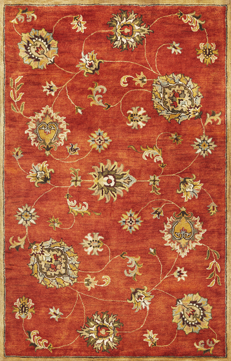 Syriana Allover Mahal 6008 Sienna Rug by Kas