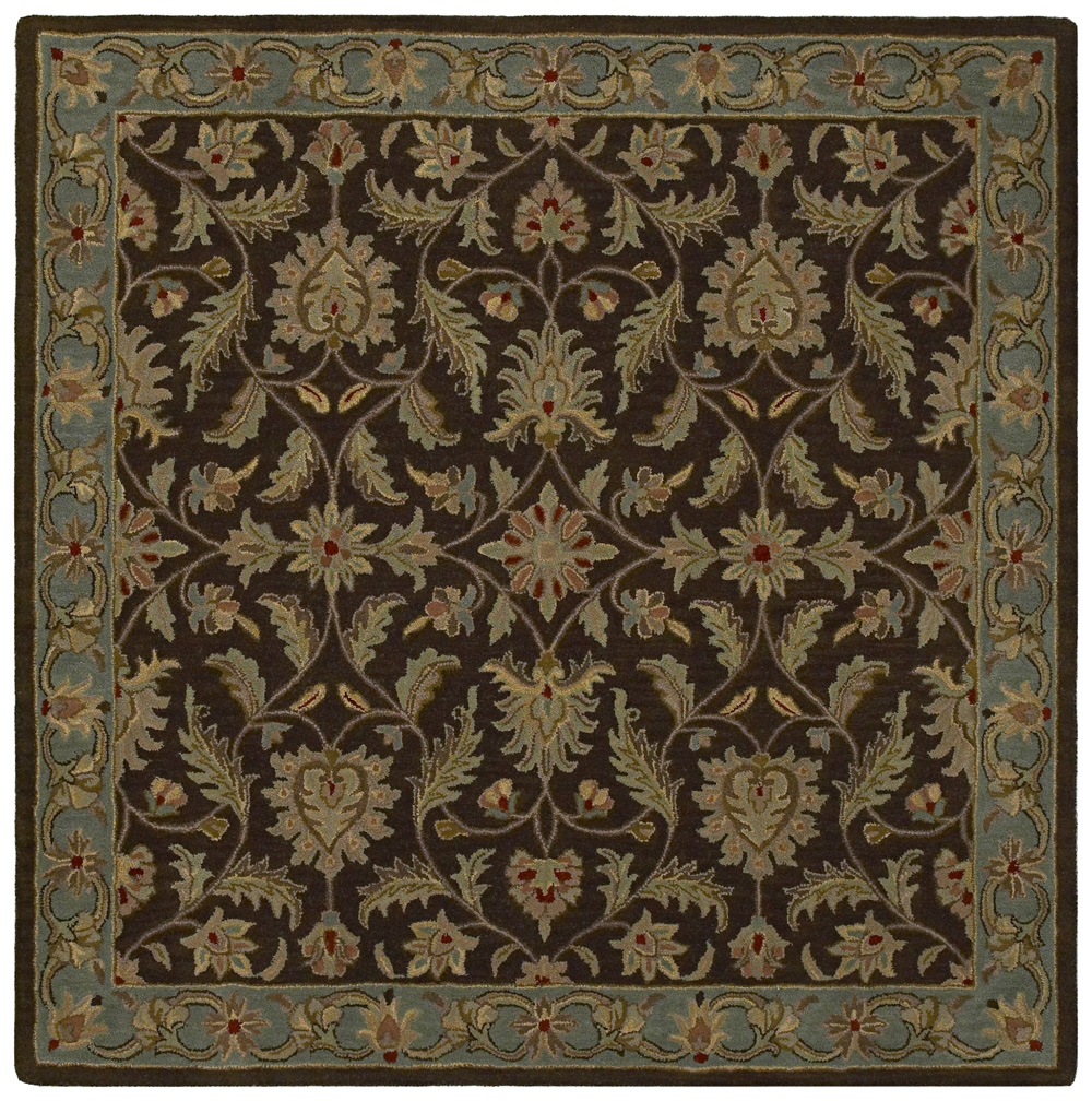 Tara Squared St Vincent 7808 Chocolate 40 Rug by Kaleen