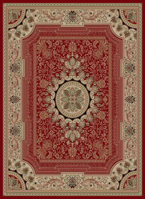 Sensation 4670 Red Rug by Tayse