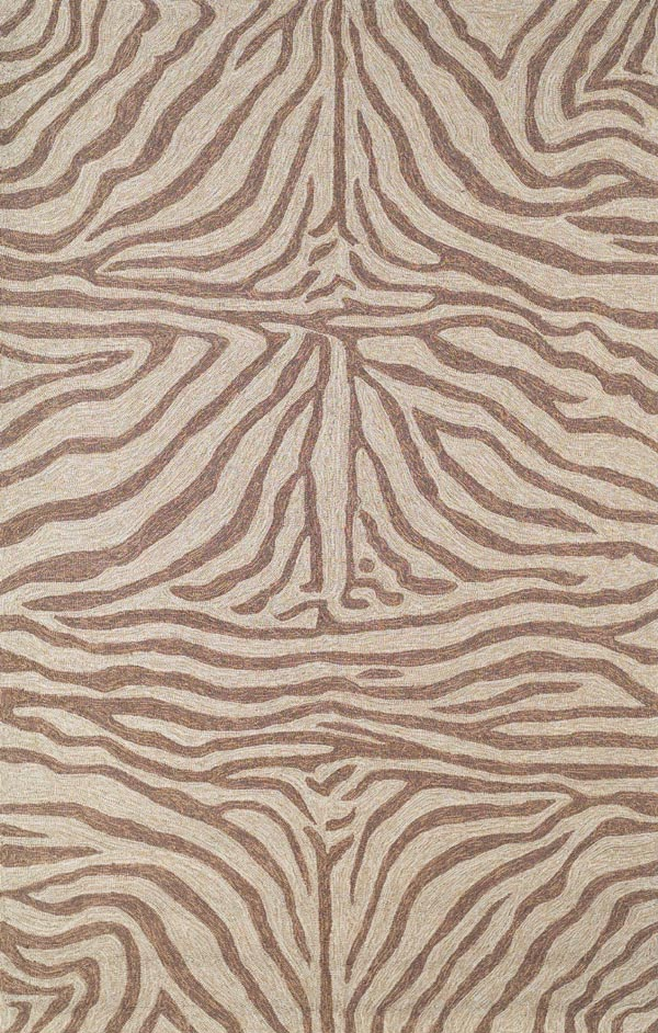 Ravella Zebra 2033/19 Brown Rug by Trans-Ocean