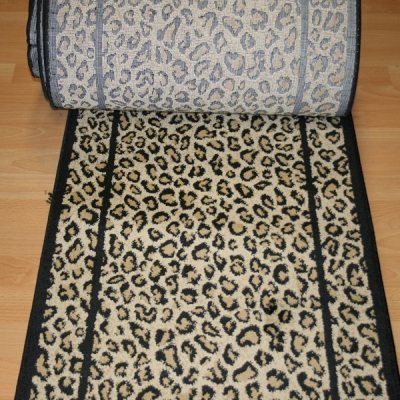 Wild Side Cheetah - 26 Inch Wide Finished Runner - Price is Per Foot