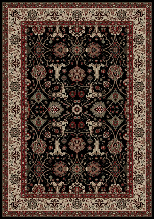 World WO10 Black Rug