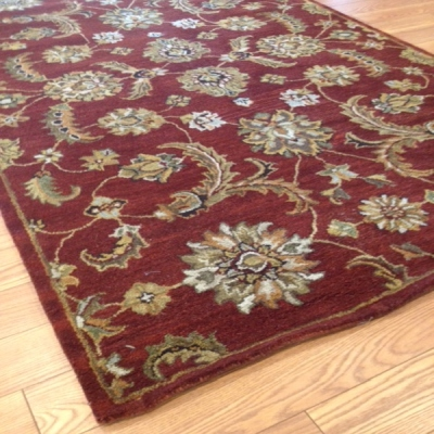 Payless Rugs Clearance Zernist Red Area Rug 5 ft x 8 ft