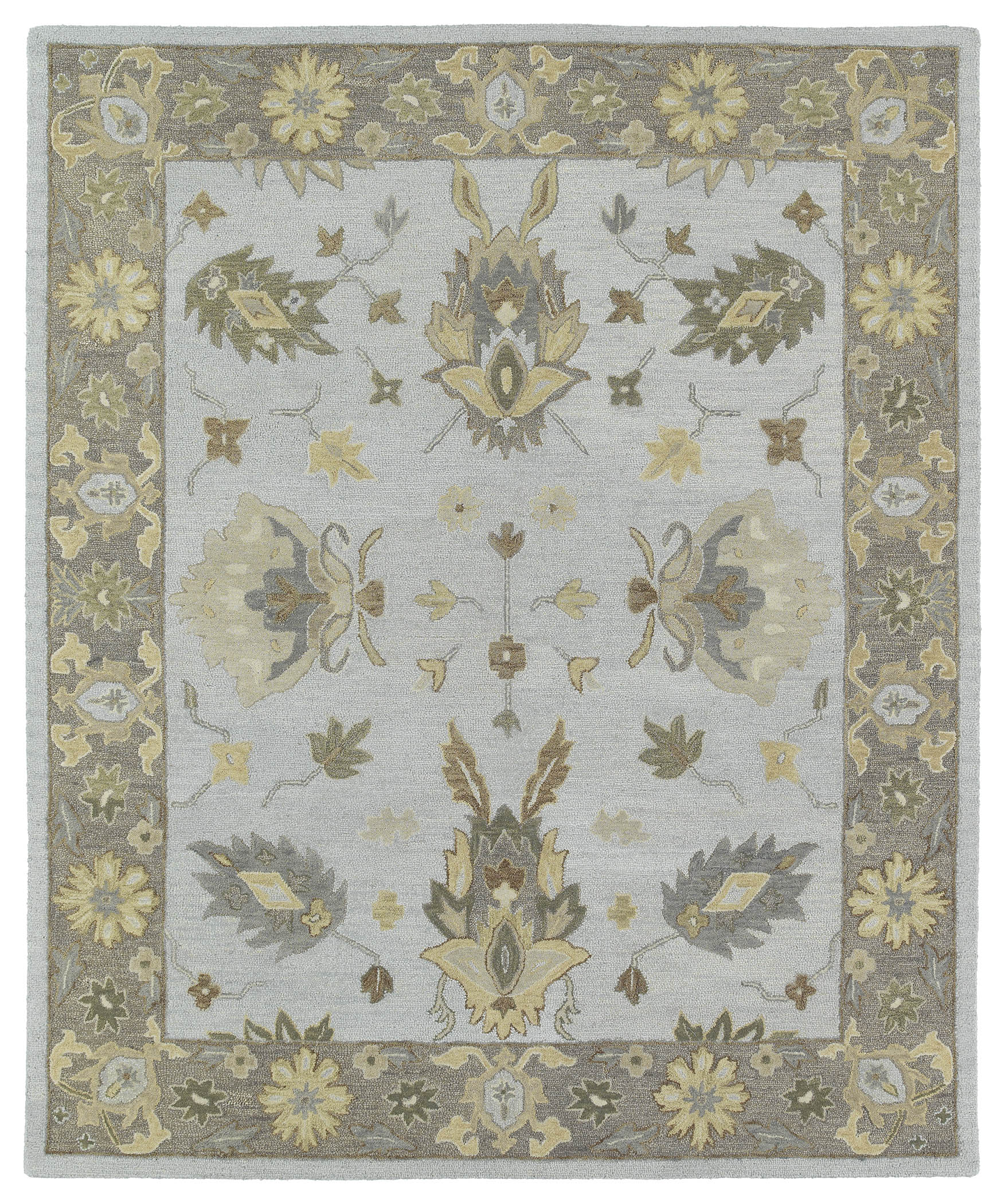 Kaleen Brooklyn Delaney 5303 77 Silver Rug