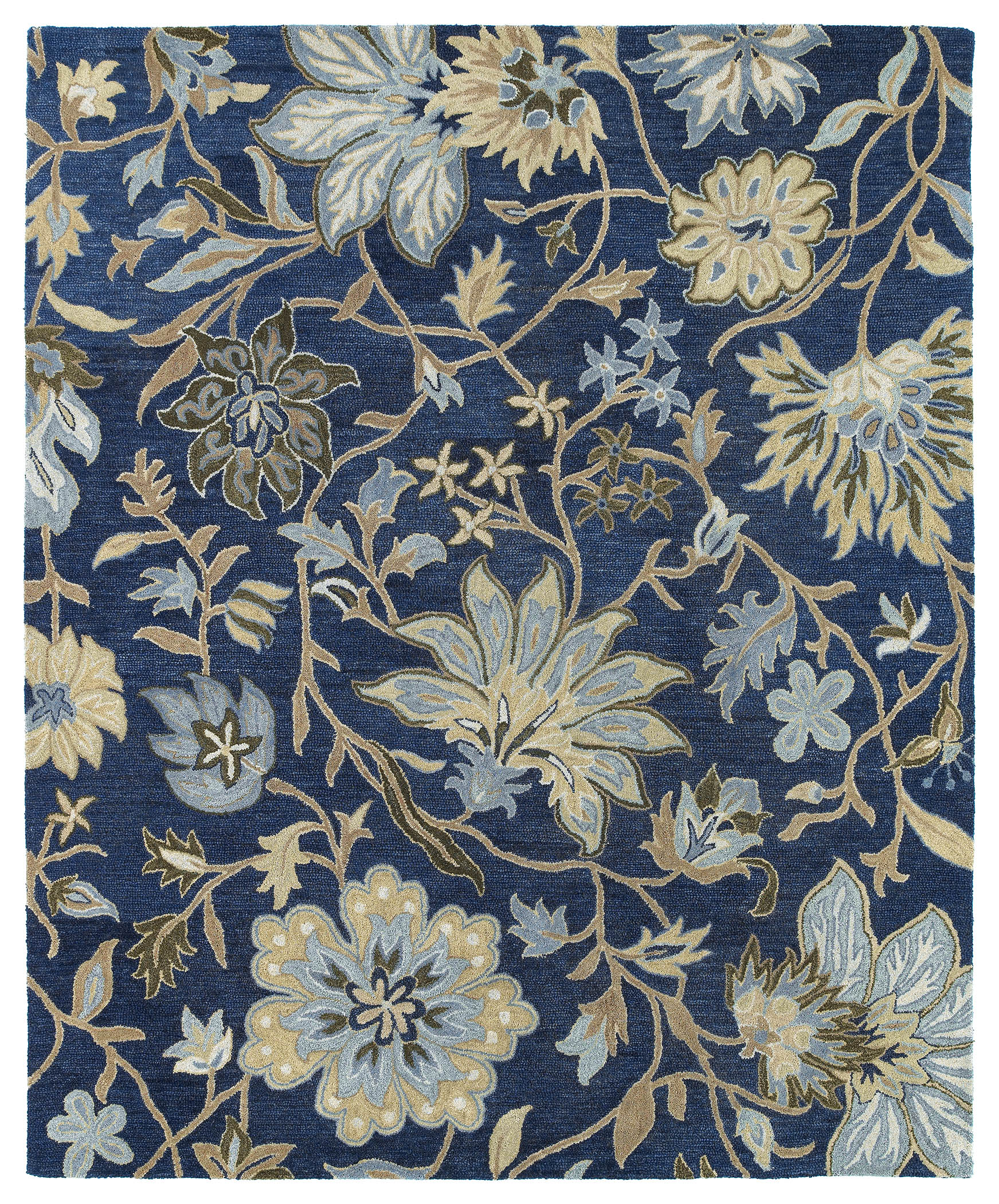 Kaleen Brooklyn Brody 5304 17 Blue Rug