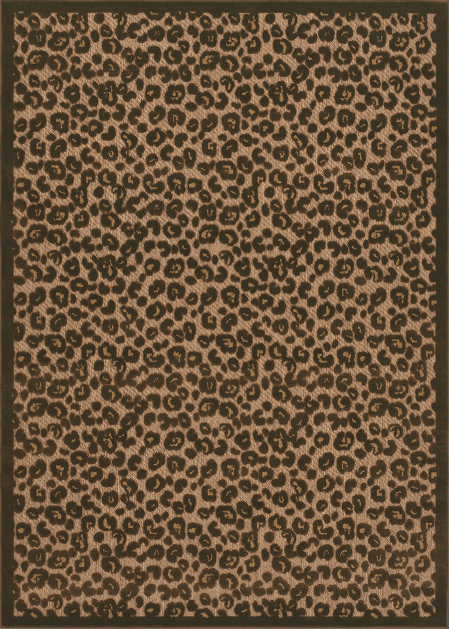 Urbane Collection by Couristan: Captivity Tan Brown 5734/3435 Urbane Outdoor Rug by Couristan