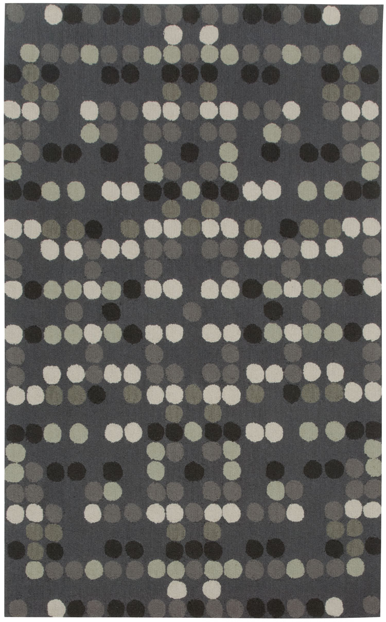 Capel Charcoal Dot 6060 350 Coal Rug