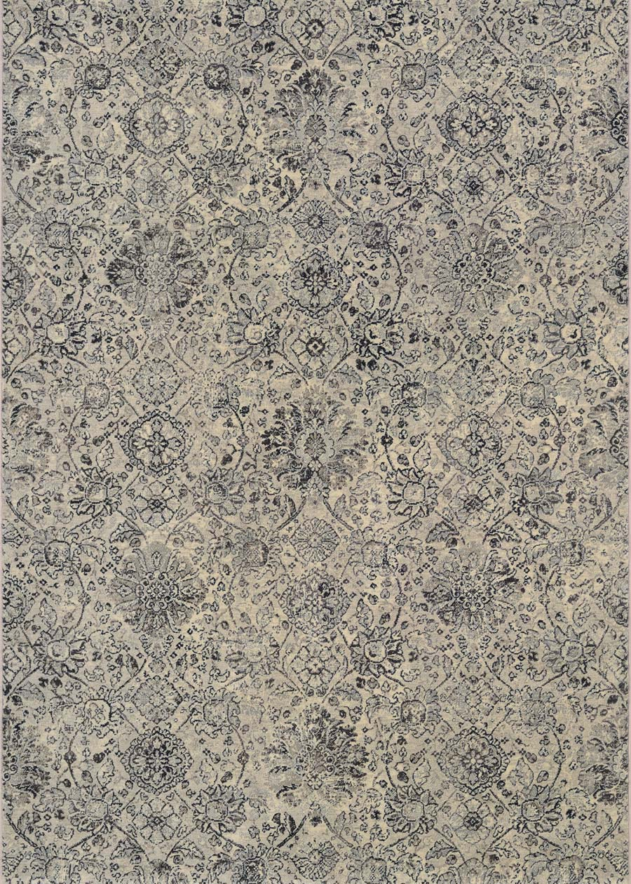 Couristan Easton Winslet 6335/6343 Beige Black Rug