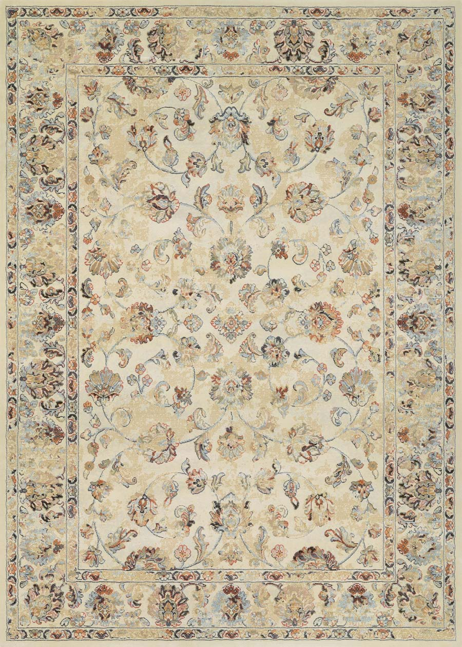 Couristan Easton Rothbury 7933/6868 Beige Multi Rug