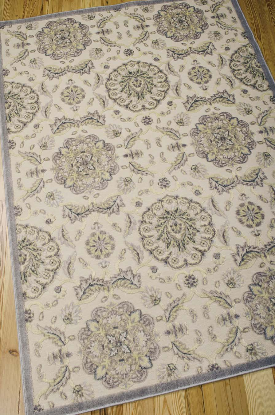 Nourison Graphic Illusions GIL12 Ivory Rug