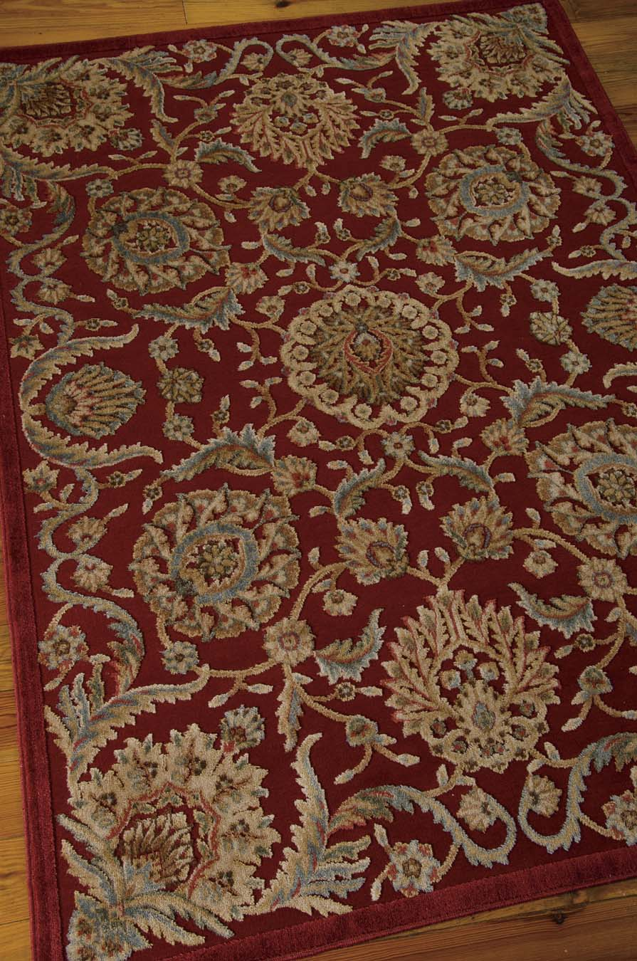 Nourison Graphic Illusions GIL17 Red Rug