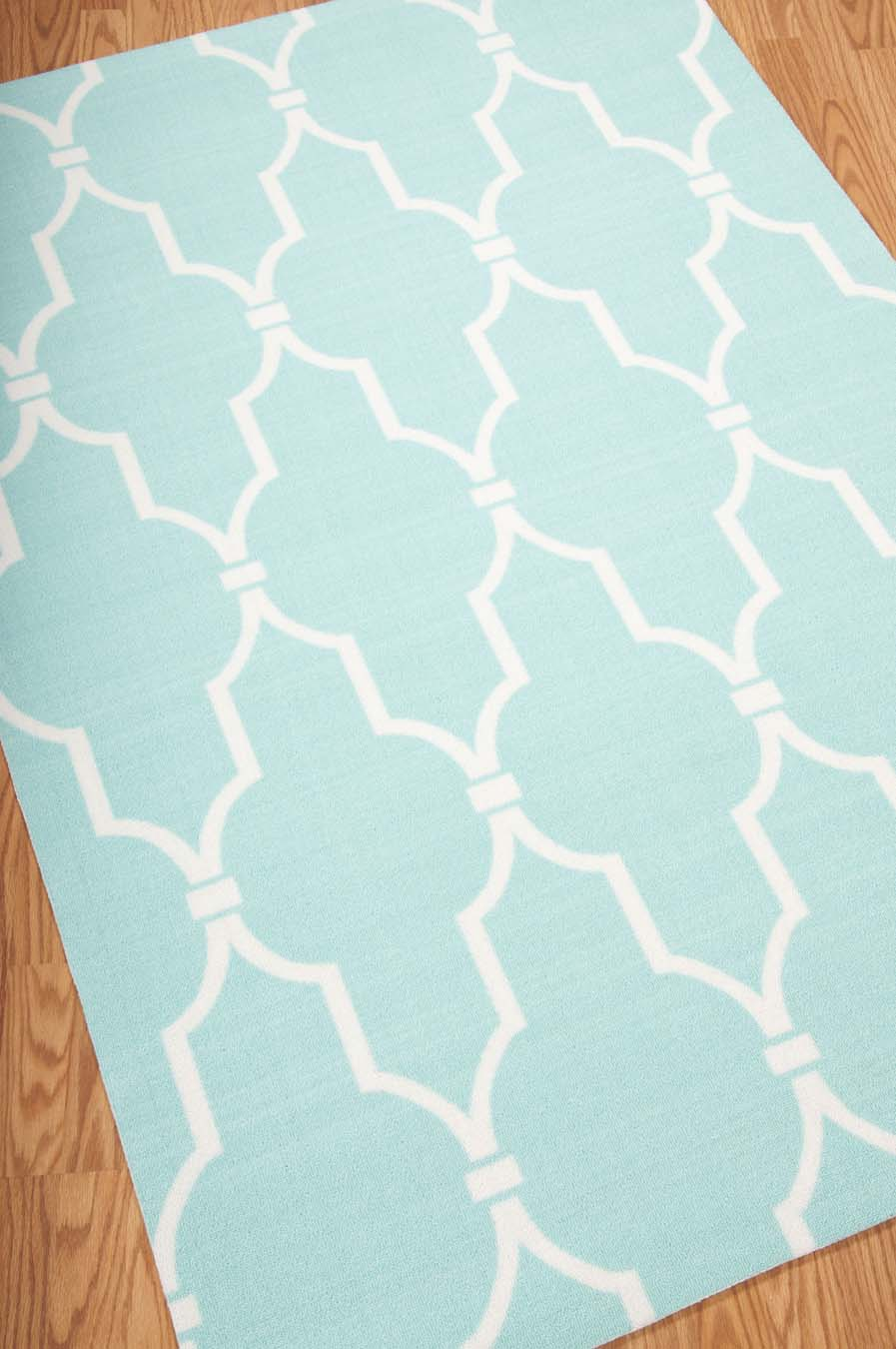 Nourison Home And Garden RS087 Aqua Rug