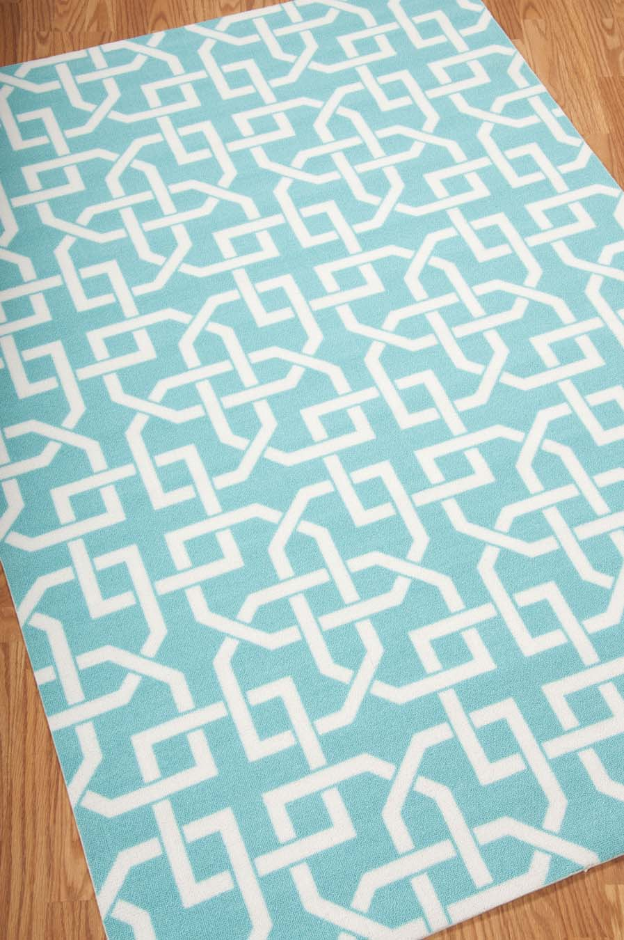 Nourison Home And Garden RS090 Aqua Rug